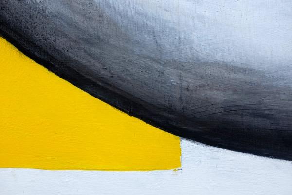 L'homme assis - 150 cm x 220 cm - details 10