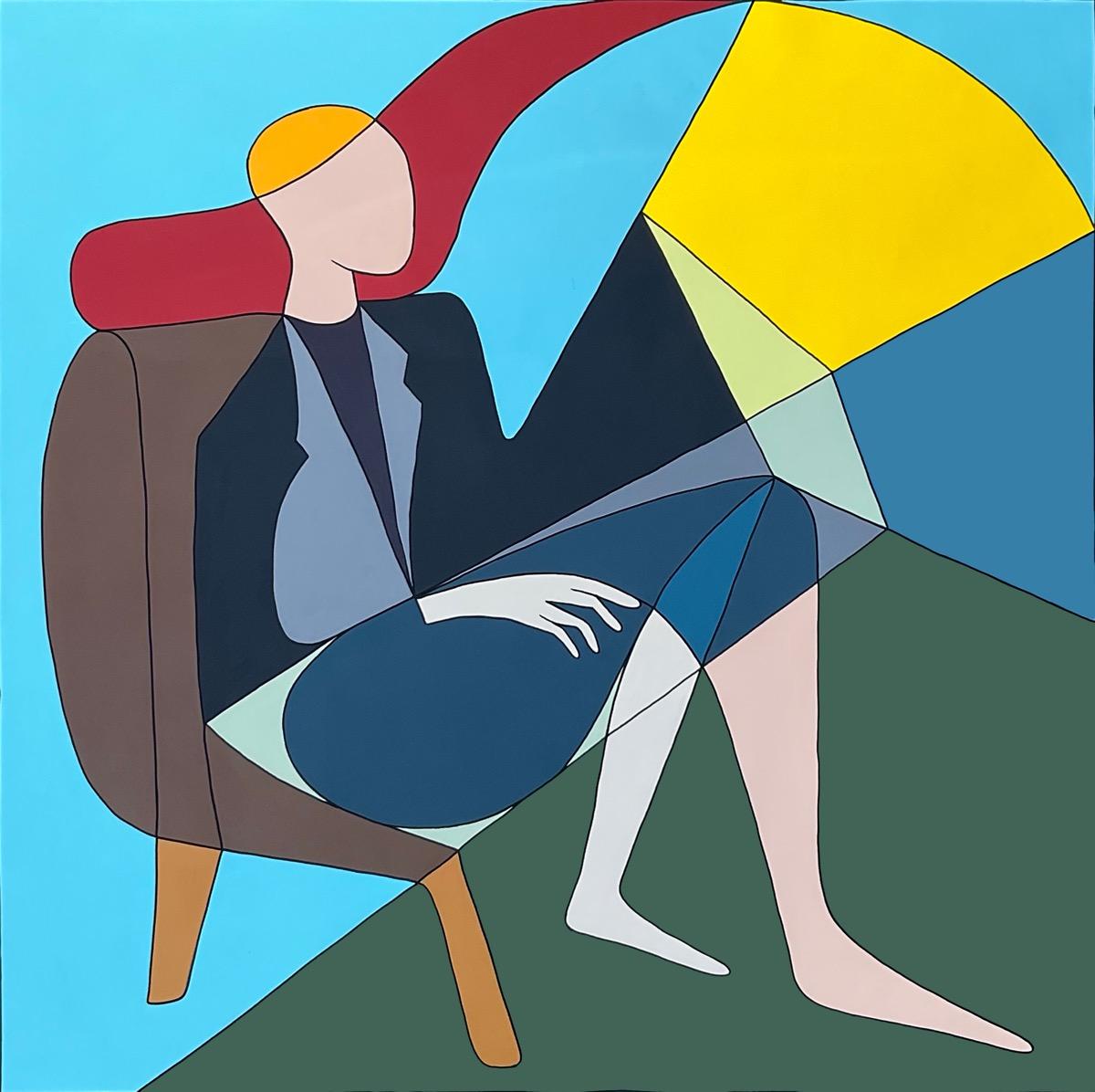 Portrait 4 - 100 cm x 100 cm