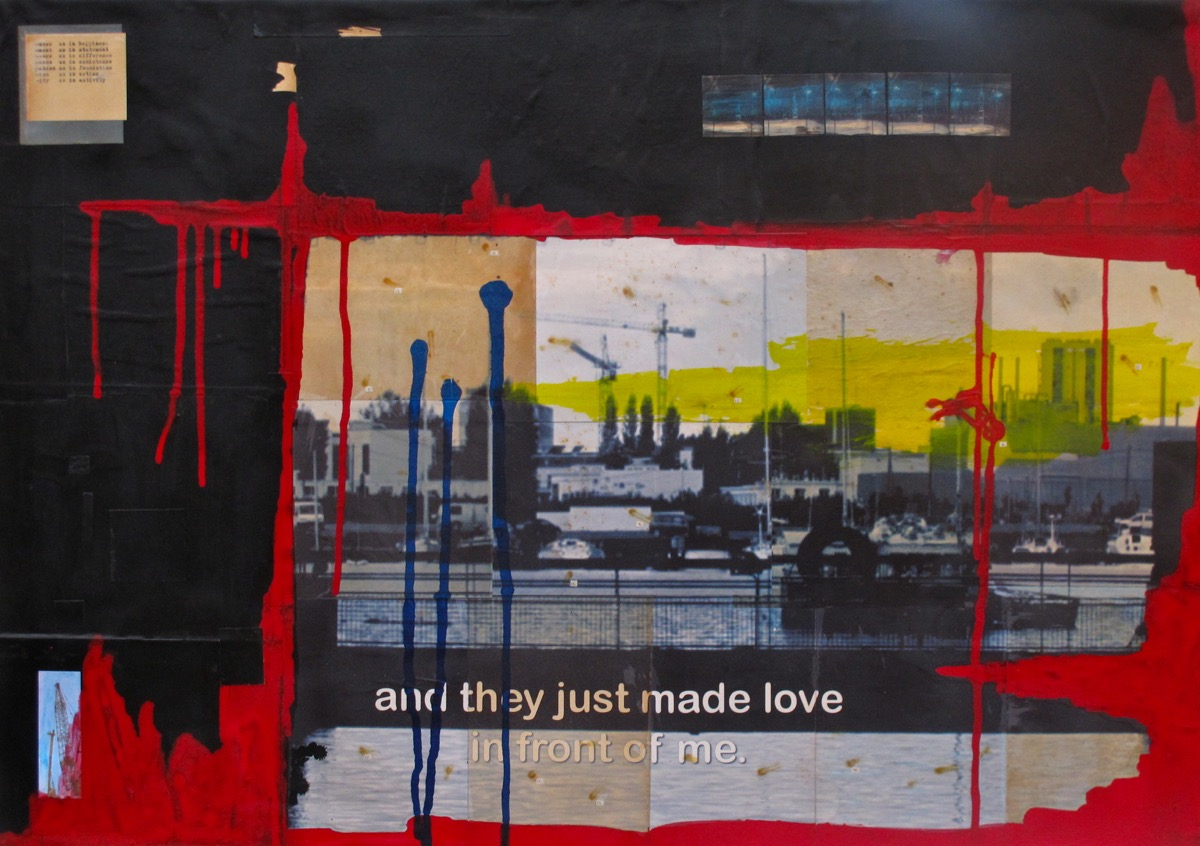 And they just made love in front of me III - 62 cm x 92 cm