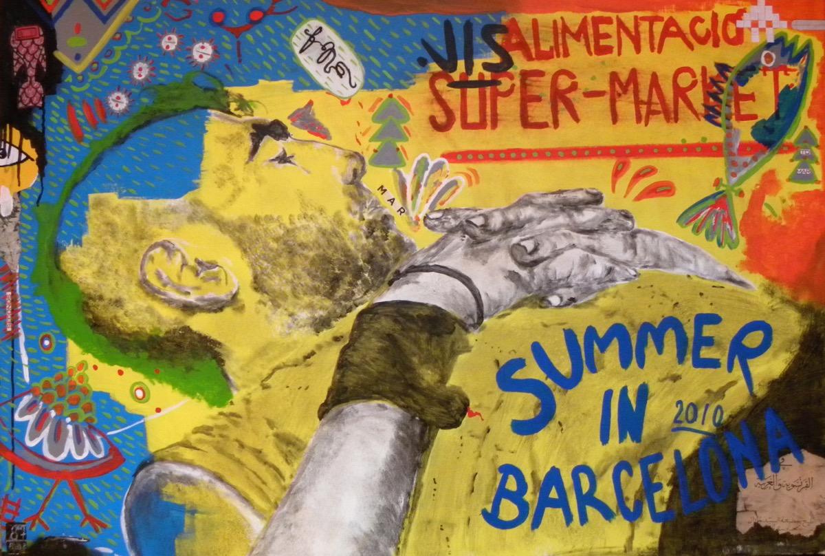 Summer in Barcelona - Rosalie 2013