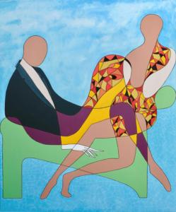 Mulholland Drive - 81 cm x 100 cm