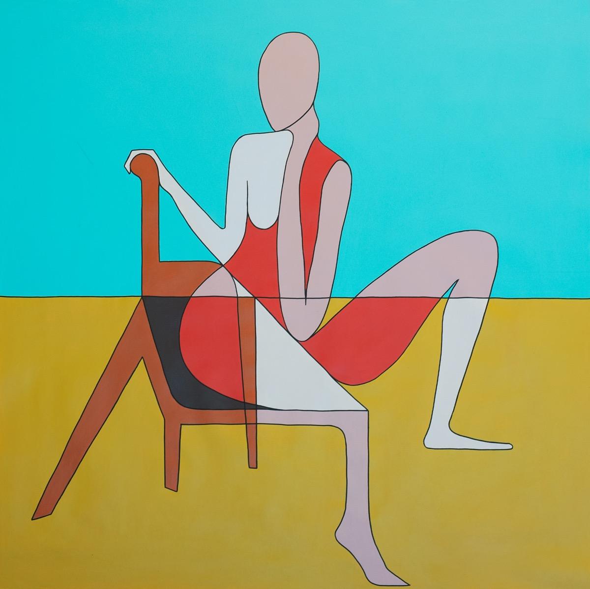 Portrait 1 - 100 cm x 100 cm